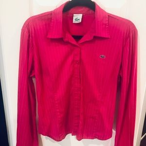 Lacoste Long-sleeve button down.great condition